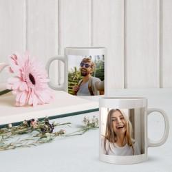Προσωποποιημένη με 2 Φωτογραφίες Κούπα