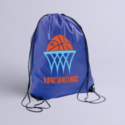 Σακίδιο Γυμναστικής για Μπάσκετ με Όνομα και Έτος