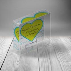 Διακοσμητικό Plexiglass με Καρδιά, Προσωποποιημένo Δώρο για την Γιαγιά