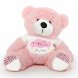 Προσωποποιημένα Όνειρα Γλυκά, σε Δώρο Αρκούδο 45 cm ή 25cm με Όνομα