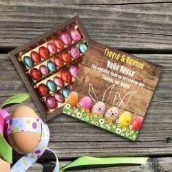 Πασχαλινό Κουτί με Σοκολατάκια Αυγουλάκια, για τον Παππού και τη Γιαγιά