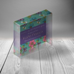 Προσωποποιημένο Plexiglas Πασχαλινό Δώρο Διακοσμητικό για την Δασκάλα