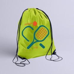 Σακίδιο Γυμναστικής Προσωποποιημένο για Τένις με Όνομα και Έτος