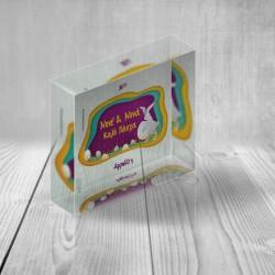 Δώρο Plexiglass Διακοσμητικό Πασχαλινό Δώρο Προσωποποιημένο