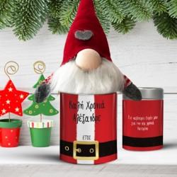 Πάνινος Άγιος Βασίλης σε Κουτί Προσωποποιημένο με Όνομα, Ευχές