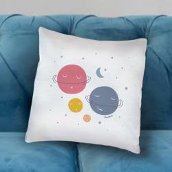 Παιδικό Μαξιλάρι με αστέρια, φεγγάρι Προσωποποιημένο με Όνομα