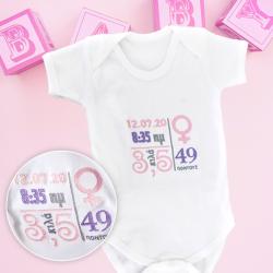 Με κέντημα Φορμάκι με στοιχεία νεογέννητου, κοριτσάκι ή αγοράκι