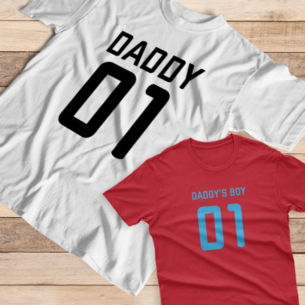 Σετ με 2 Μακό για Μπαμπά και Παιδί, Αγόρι ή Κορίτσι