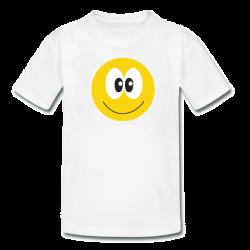 Λευκό Παιδικό Μακό με Στάμπα Smile