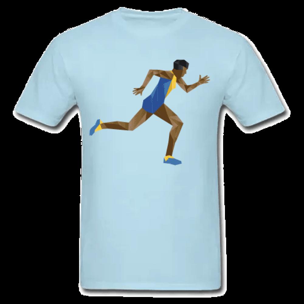 Γαλάζιο Ανδρικό Μακό Runner