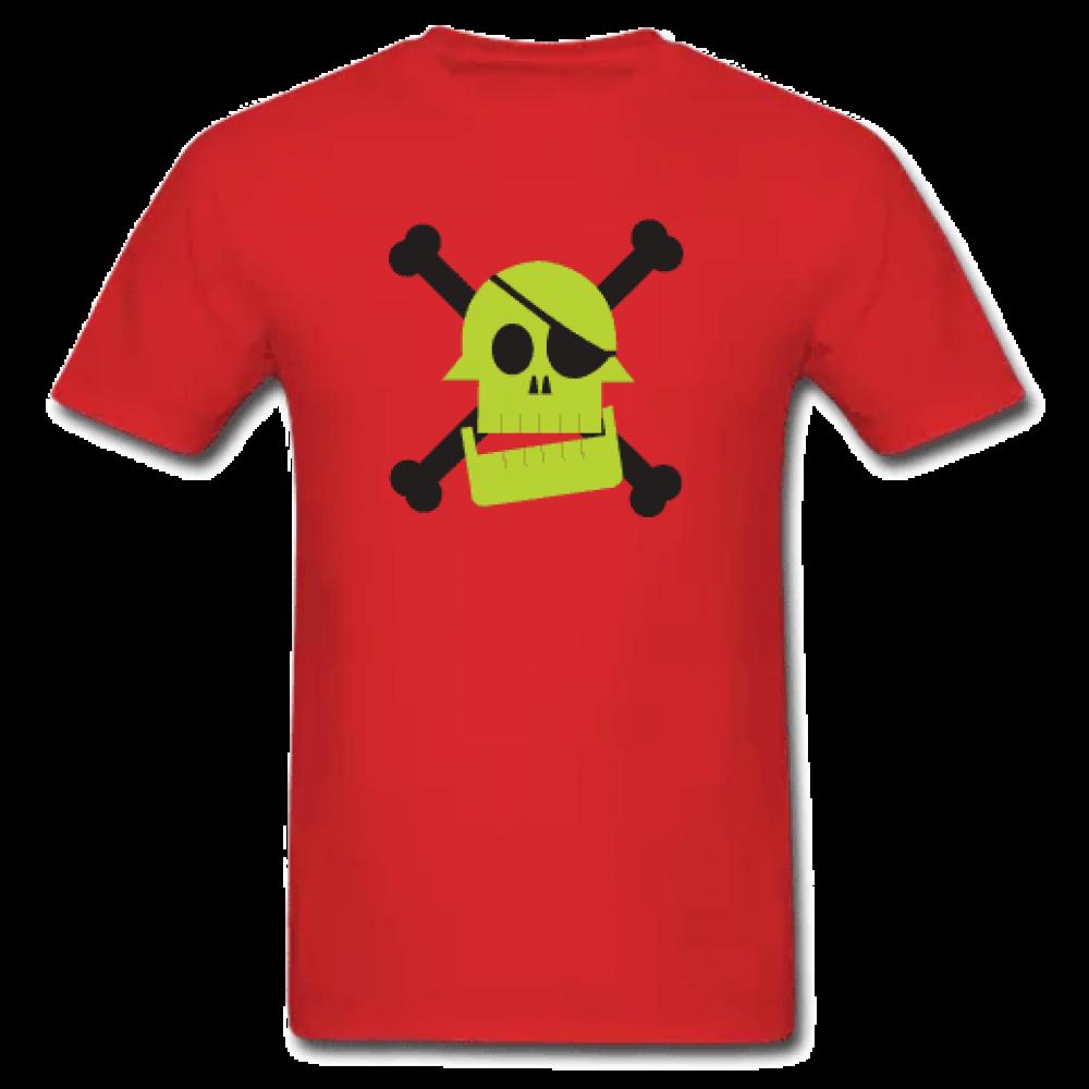 Κόκκινο Ανδρικό Μακό Με Πειρατή