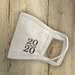 Mάσκα με Κέντημα Class 20?? για αποφοίτηση, 100% Organic Cotton