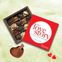 Προσωποποιημένo Κουτί με Σοκολατάκια Love Story