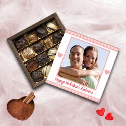 Προσωποποιημένo Κουτί Σοκολατάκια με Φωτογραφία Happy Valentines