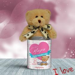 Προσωποποιημένο Αρκουδάκι Happy Valentines' Day
